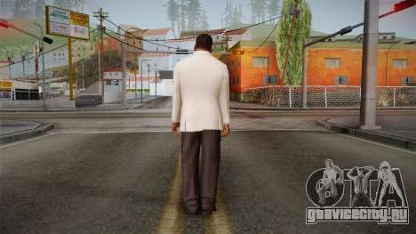 GTA 5 Franklin Tuxedo v1 для GTA San Andreas третий скриншот