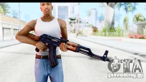 Kalashnikov AKM для GTA San Andreas третий скриншот