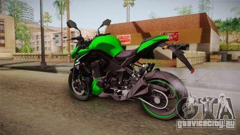 Kawasaki Z1000 для GTA San Andreas вид слева