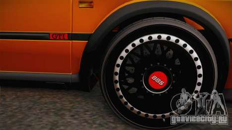 Volkswagen Golf Mk2 GTI .ILchE STYLE. для GTA San Andreas вид сзади слева