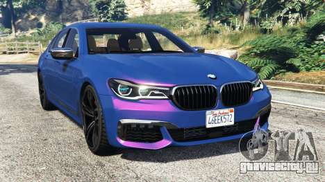 BMW 750i xDrive M Sport (G11) [add-on] для GTA 5