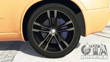 BMW X5 M (E70) 2013 v1.0 [add-on] для GTA 5 вид сзади справа