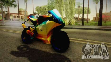 Rainbow Motorcycle для GTA San Andreas