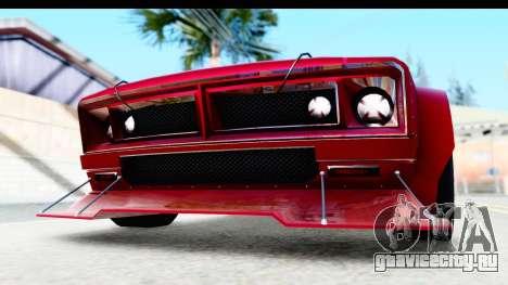 GTA 5 Declasse Tampa Drift IVF для GTA San Andreas вид сверху