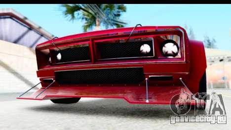 GTA 5 Declasse Tampa Drift IVF для GTA San Andreas вид сбоку
