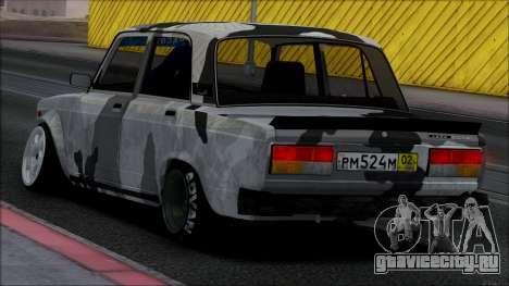 ВАЗ 2107 Single для GTA San Andreas