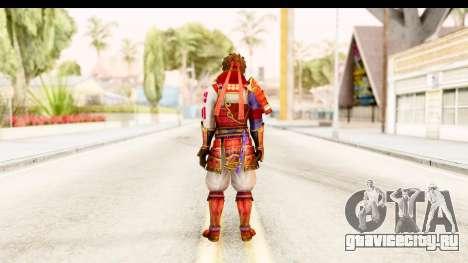 Sengoku Musou 4 - Sanada Yukimura для GTA San Andreas третий скриншот