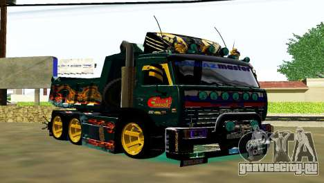KaMAZ 65115 TURBO SAMOSVAL для GTA San Andreas