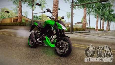 Kawasaki Z1000 для GTA San Andreas вид справа