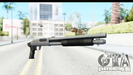 Tactical Mossberg 590A1 Chrome v1 для GTA San Andreas