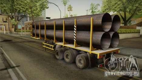 МАЗ 99864 Trailer v3 для GTA San Andreas вид справа