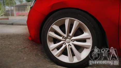 Lada Vesta Sedan для GTA San Andreas вид сзади слева