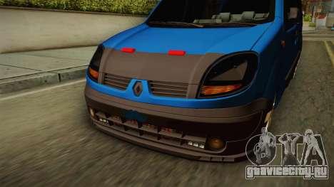 Renault Kangoo для GTA San Andreas вид изнутри