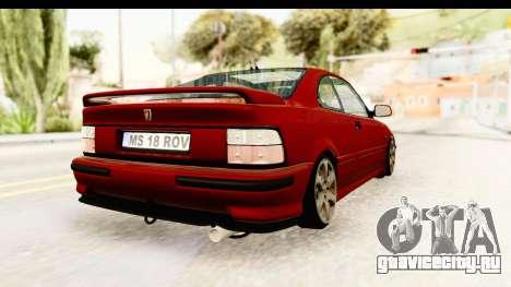 Rover 220 Kent 2 для GTA San Andreas вид сзади слева