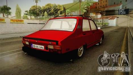 Dacia 1310 TX 1986 v2 для GTA San Andreas вид сзади слева