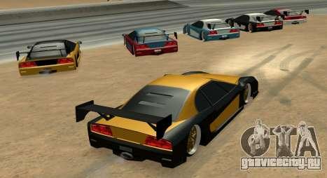 Turismo Major Ver.2 для GTA San Andreas вид сзади слева
