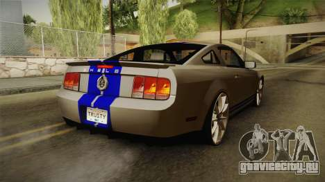 Ford Mustang Shelby GT500KR Super Snake для GTA San Andreas вид слева