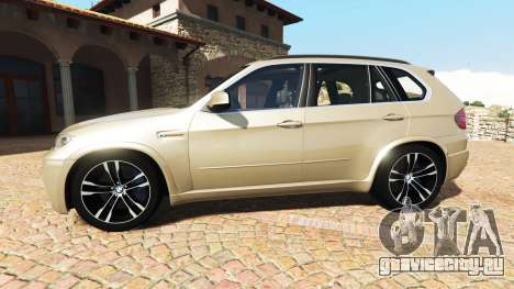 BMW X5 M (E70) 2013 v1.2 [add-on] для GTA 5 вид слева
