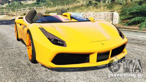 Ferrari 488 Speedster 2016 [replace] для GTA 5