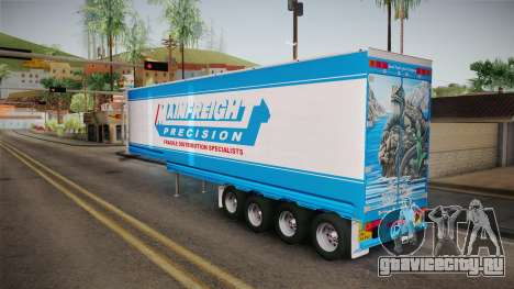 Trailer 4 Axle для GTA San Andreas вид справа