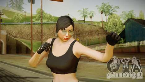 GTA 5 Heists DLC Female Skin 2 для GTA San Andreas
