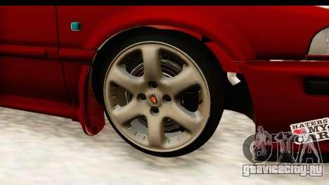 Rover 220 Kent 2 для GTA San Andreas вид сзади