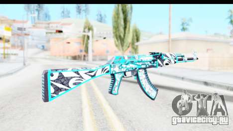 AK-47 Frontside Misty для GTA San Andreas второй скриншот