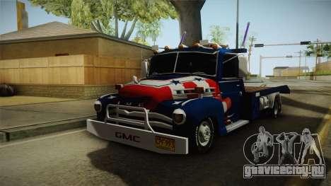 GMC 4100 1950 GRUA для GTA San Andreas