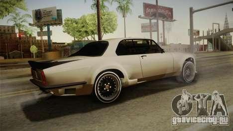 Jaguar Broadspeed XJC для GTA San Andreas вид слева