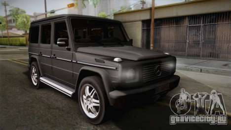 Mercedes-Benz G500 для GTA San Andreas