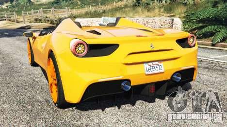Ferrari 488 Speedster 2016 [replace] для GTA 5