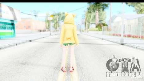 Marie Rose Newcomer Yellow для GTA San Andreas