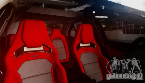 Mercedes-Benz C63 AMG w204 для GTA San Andreas вид сбоку