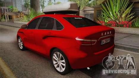 Lada Vesta Sedan для GTA San Andreas вид слева