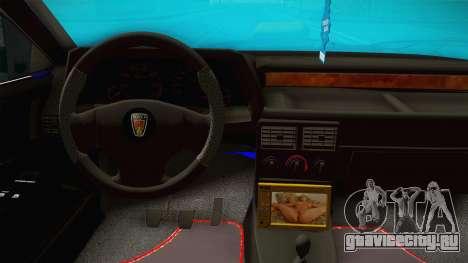 Rover 220 Bozgor Edition для GTA San Andreas вид изнутри