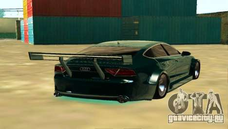 AUDI A7 SPORTS для GTA San Andreas