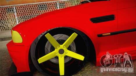BMW M3 E46 Turkish Stance для GTA San Andreas