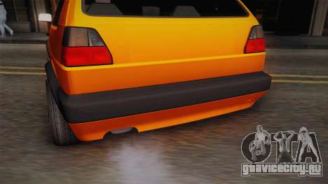 Volkswagen Golf Mk2 GTI .ILchE STYLE. для GTA San Andreas вид сбоку