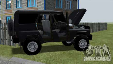 Uaz Hunter для GTA San Andreas вид слева