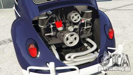 Volkswagen Fusca 1968 v0.9 [add-on] для GTA 5 вид справа