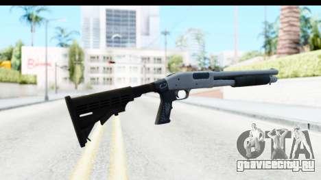 Tactical Mossberg 590A1 Chrome v2 для GTA San Andreas второй скриншот