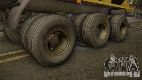 МАЗ 99864 Trailer v3 для GTA San Andreas вид сзади