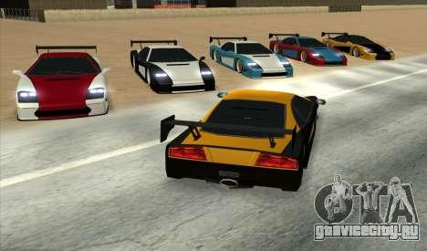 Turismo Major Ver.2 для GTA San Andreas вид слева