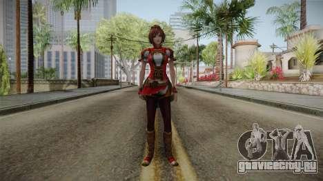Dynasty Warriors 8 - Sun ShangXiang Remade для GTA San Andreas второй скриншот