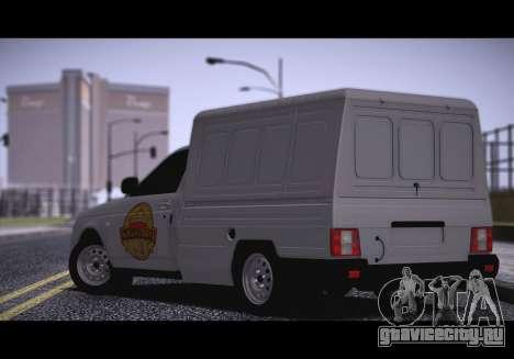 Lada Priora Budka для GTA San Andreas вид слева