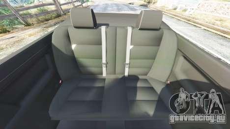 BMW 328i (E36) M-Sport [replace] для GTA 5 руль и приборная панель