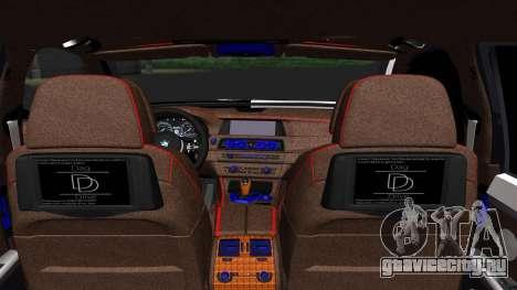 BMW 750i Smotra Kiev для GTA San Andreas вид сзади слева