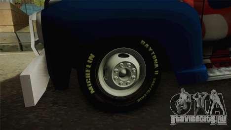 GMC 4100 1950 GRUA для GTA San Andreas вид сзади