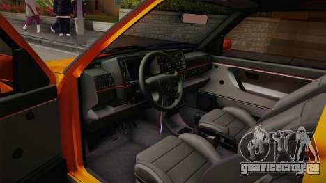 Volkswagen Golf Mk2 GTI .ILchE STYLE. для GTA San Andreas вид сзади