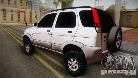 Toyota Daihatsu Terios 2000 для GTA San Andreas вид слева